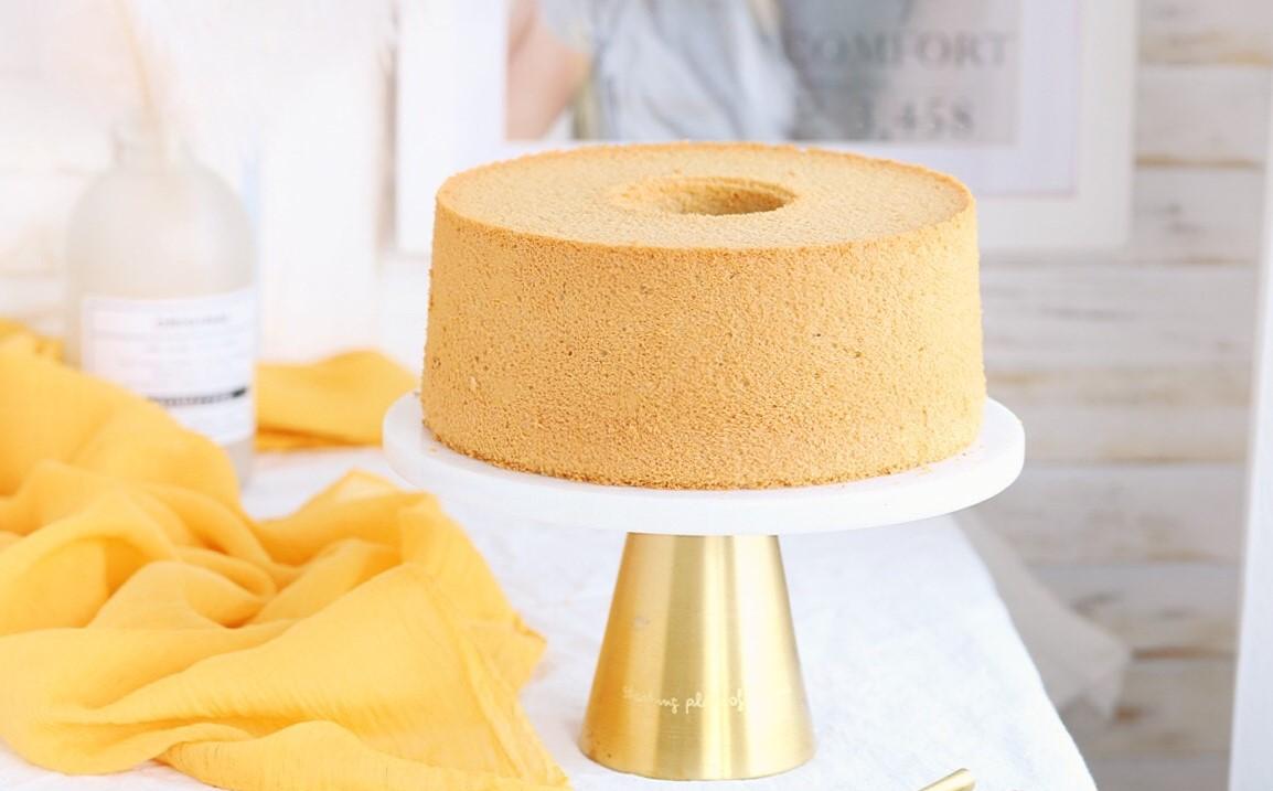 7寸咖啡戚风蛋糕