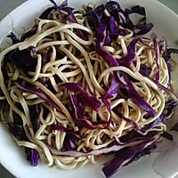 紫甘蓝拌豆腐丝的做法图解2