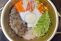 肥牛石锅拌饭的做法
