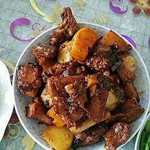 红烧排骨闷土豆