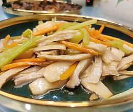 素炒杏鲍菇 手撕杏鲍菇的做法