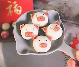 #精品菜谱挑战赛#福气多多 卡通猪猪汤圆的做法