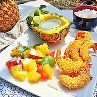 菠萝沙拉黄金虾的做法图解15