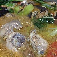 低碘飲食:香菇麻油雞小火鍋