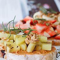 開放式水果三明治的做法圖解5