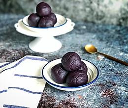#餐桌上的春日限定#万能紫薯馅的做法