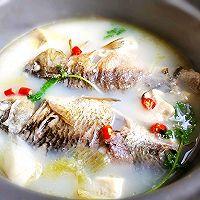 #母亲节,给妈妈做道菜#鲫鱼豆腐汤的做法图解10