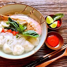 越南海鲜河粉