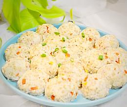 轻食藜麦豆腐丸子,减肥无负担,蒸蒸更营养的做法
