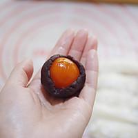 #精品菜谱挑战赛#不裂不爆不混酥,层层分明的经典豆沙蛋黄酥的做法图解22