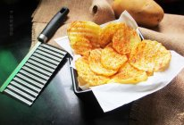 香辣波纹薯片的做法