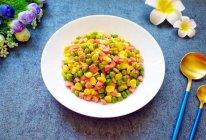 三色小炒#花10分钟,做一道菜!#的做法