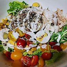 #全电厨王料理挑战赛热力开战!#蔬菜沙拉