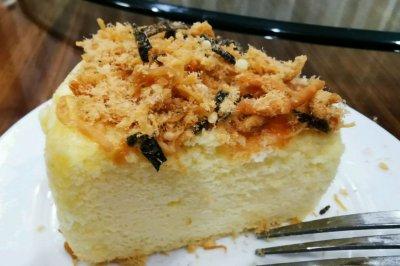 海苔肉松戚风蛋糕