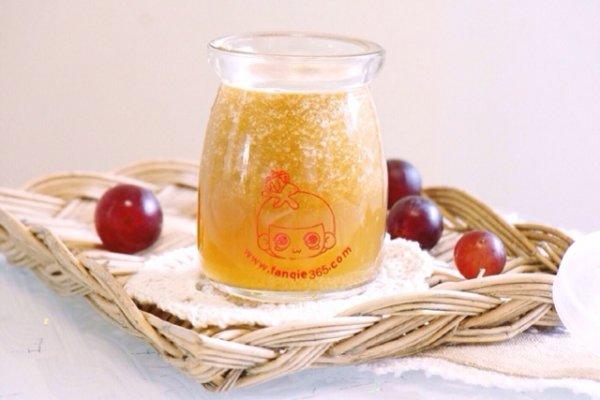 冰镇葡萄苹果汁的做法