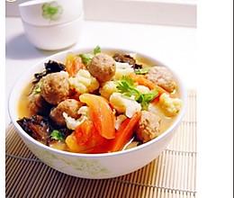 家常美味:三鲜菜花的做法
