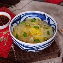 鸡汤白菜炖粉条#初春润燥正当时#