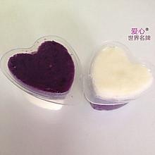 ^_^两情相悦-紫薯山药泥