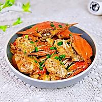 #合理膳食 营养健康进家庭#红烧梭子蟹的做法图解13