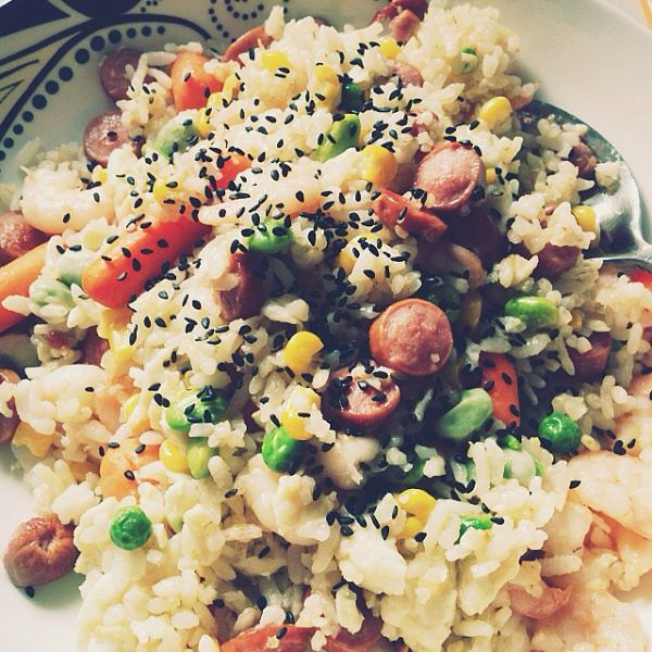 留学生之好吃又简单的炒饭的做法
