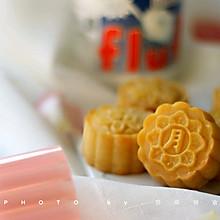 超简单的FLUFF奶黄流心月饼