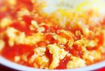 无油无糖)番茄鸡蛋盖饭(低卡版)的做法