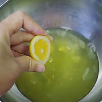 小清新 | 新鲜黄桃水果戚风蛋糕的做法图解5