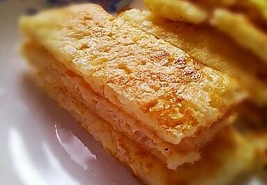 鸡蛋香米饼