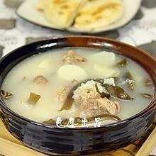 鸭肉海带萝卜粥——秋季润肺去燥