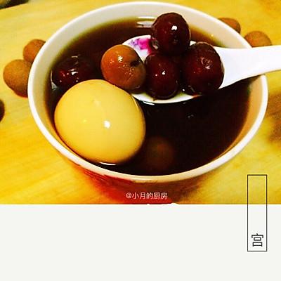 【姑娘专属】例假秋冬补气血圣品-桂圆红枣红糖鸡蛋姜汤