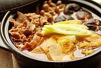 韩国鲜菌辣肥牛汤锅的做法