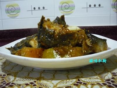 南瓜炆钳鱼--春季美食的做法