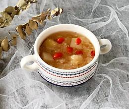 胶质满满的糯耳雪梨羹,秋冬润燥来一碗#洗手作羹汤#的做法