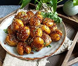 #硬核菜谱制作人#风味小土豆的做法