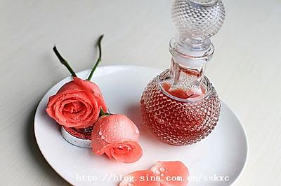 美颜玫瑰醋