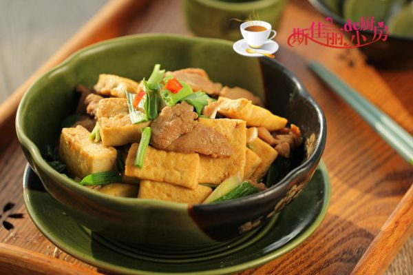 豆腐鸭脯肉