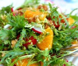 法汁蔬果沙拉的做法