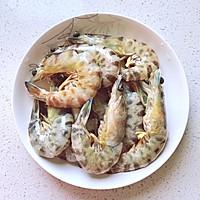 美味黄金虾的做法图解2