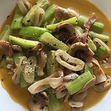 蘑菇洋葱烩丝瓜