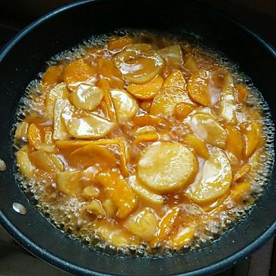 甜蜜蕃薯片的做法 步骤4