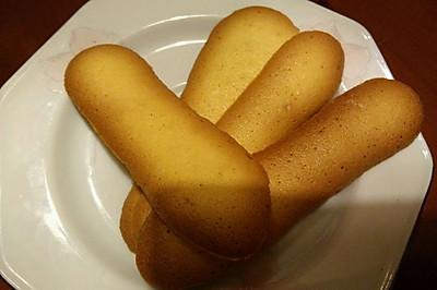 【手指饼】十分钟超简单无油鸡蛋饼干