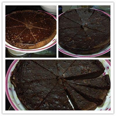 电饭锅巧克力蛋糕~