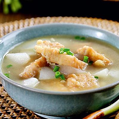 萝卜酥肉汤