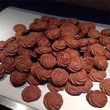 巧克力曲奇-----巧克力杏仁曲奇