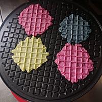 五彩薄脆饼 #520,美食撩动TA的心!#的做法图解9