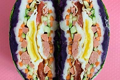 减脂三明治