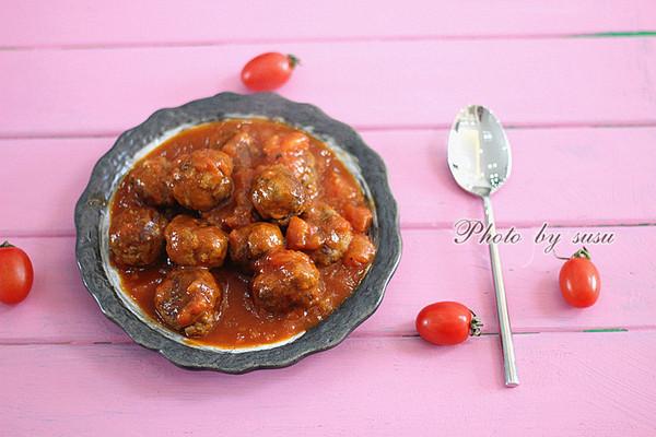 越简单越美味——意式牛肉丸 #拉歌蒂尼菜谱#的做法