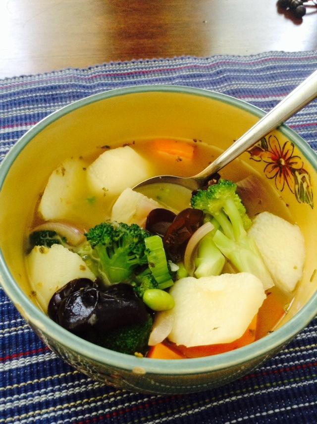 健康蔬菜汤的做法