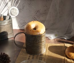 蔓越莓贝果 低脂低糖 健康营养的早餐面包的做法