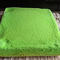 8寸生日蛋糕(方形)的做法图解1